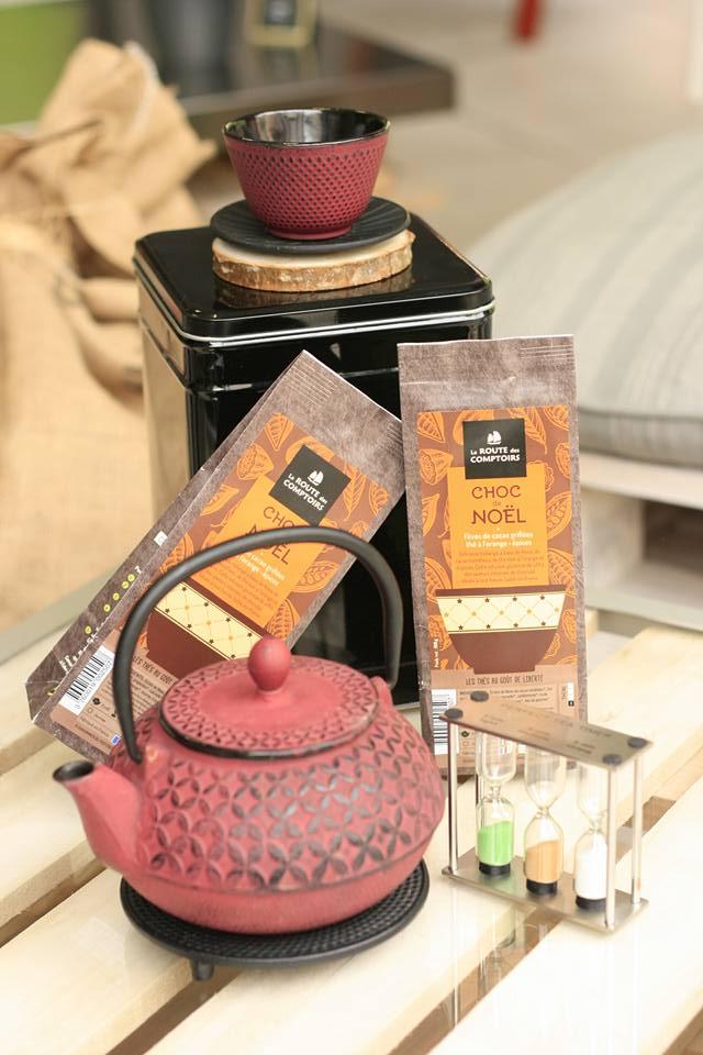 Routes des comptoirs, fournisseur, thé, les chapotins